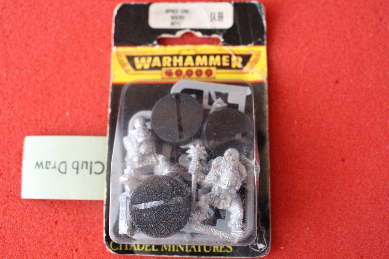 Games Workshop Warhammer 40k Evil Sunz Weirdboy Orks Metal BNIB Suns Weird Boy