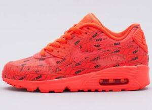 los angeles 05c48 697da Image is loading NIKE-AIR-MAX-90-SE-LTR-GS-LEATHER-