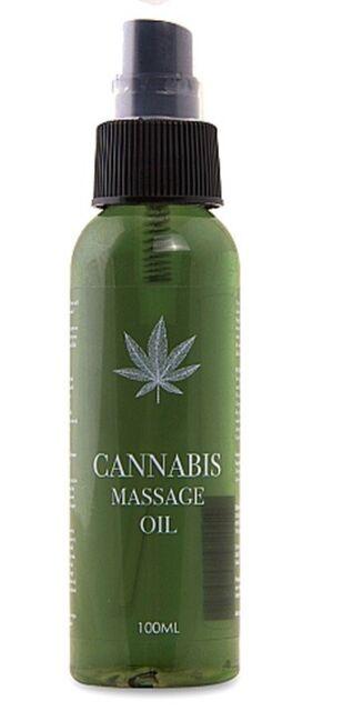 Massage Öl Cannabis Hanf 100ml Genuss Anregung Relaxing Erotik Sex Libido Unisex