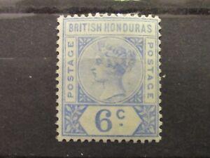 British-Honduras-QV-6-Cent-VLHM-S-G-56-Superb