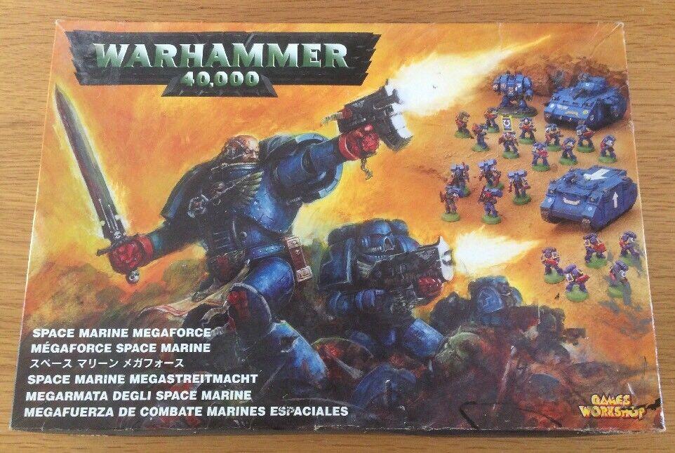 Spel arbetarhop Warhammer 40k Space Marine Megaforce lådaad