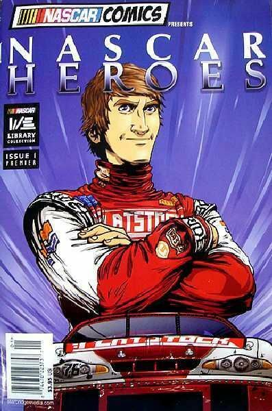 NASCAR HEROES Comic  ORIGINS Special  RARE  2007  UNREAD
