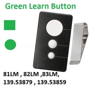 Image Is Loading Craftsman Garage Door Opener Visor Remote Control For