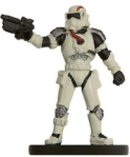 The Force Unleashed ~ RAXUS PRIME TROOPER #38 Star Wars miniature