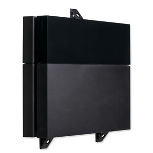 Wall-Mount-for-PlayStation-4-PS4-Original-Game-Console-PS4-Wall-Bracket-Black