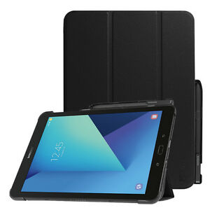 For Samsung Galaxy Tab S3 9 7 Case Slim Shell Standing Cover With S Pen Holder Ebay
