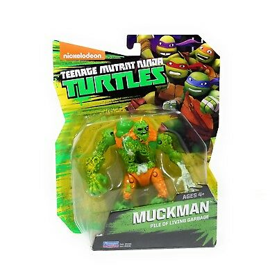 Teenage Mutant Ninja Turtles TMNT muckman Figure Set-Neuf livraison gratuite