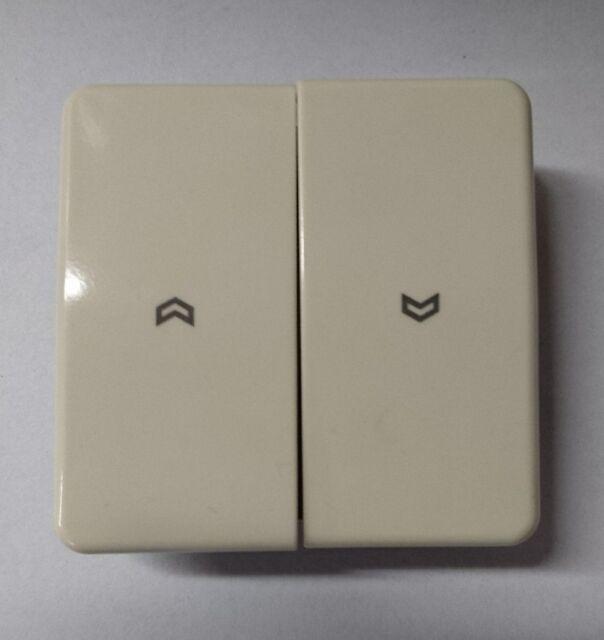 5 Stück Jung Abdeckung CD 500 Wippe für Jalousie Schalter CD595P