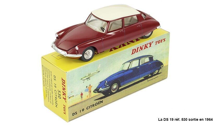 DINKY TOYS ATLAS - CITROËN DS 19 - NOREV VOITURE MINIATURE 530