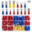 280PCS-Assorted-Crimp-Spade-Terminal-Insulated-Electrical-Wire-Connector-Kit-Set thumbnail 11