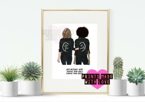 raincoat customised PRINT ONLY Best friend personalised gift