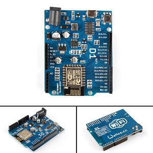 5x UNO ESP8266 ESP-12E WeMos D1 WiFi Uno Board Bouclier Pour  Node MCU AF