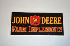 """2 X John Deere 4.5 """"Etiquetas de vinilo de herramientas agrícolas Tractor Agricultura Agricultura"""