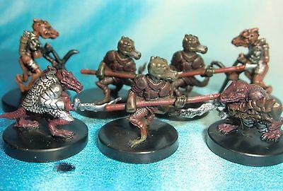 Dungeons & Dragons Miniatures Lot  Kobold Horde Attack !!  s104