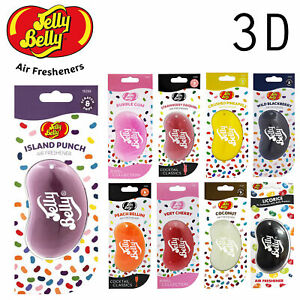 JELLY-BELLY-AIR-FRESHENER-ALL-3D-FLAVOURS-CHOOSE-YOUR-FAVOURITES