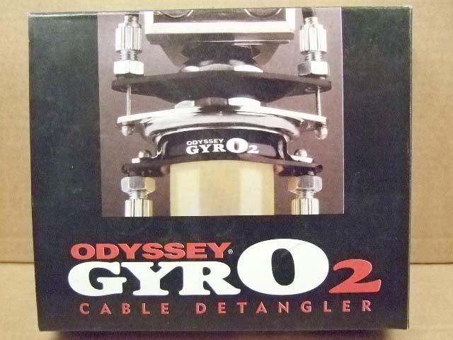 Nos Odisea Gyro 2 II Bmx Spinner Detangler  Negro