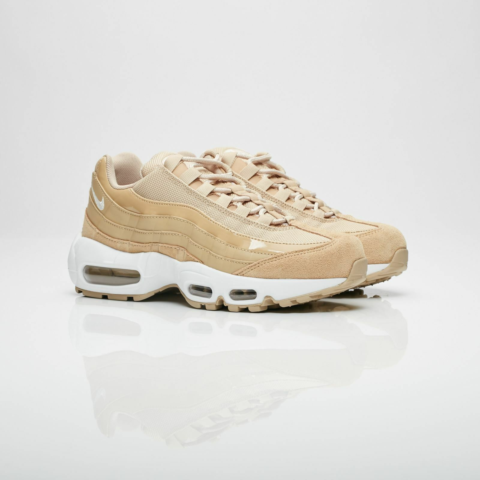 Nike Womens Air Max 95 201 Mushroom Beige Trainers 307960 201 95 688c0f