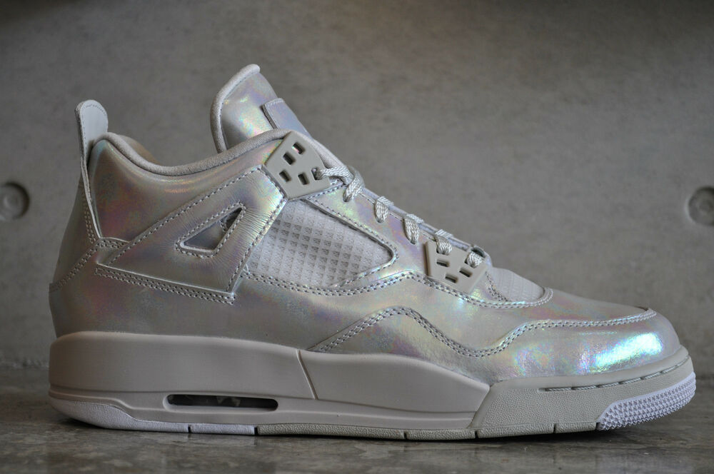 Nike Air Jordan 4 Retro Pearl GG (GS) - Light Bone/Cannon-Light Bone-ght Bone