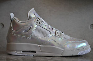 competitive price c8ecb 47d18 Image is loading Nike-Air-Jordan-4-Retro-Pearl-GG-GS-