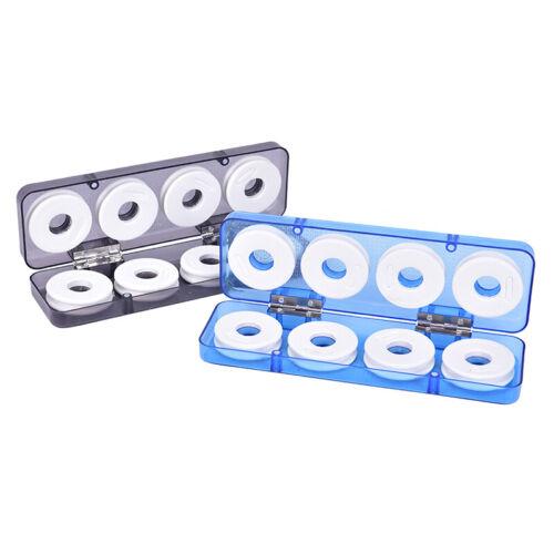 Schaumwickelbrett Angelschnur Drahtwelle Spulenspulen Tackle Box CXUI 16St 8