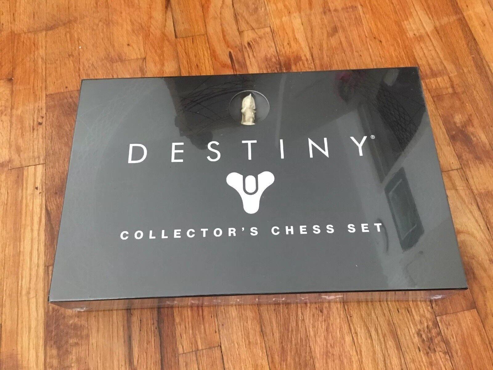 Destiny Collectors Edition Chess Set Brand New Sealed Mara Sov Iago Zavala ghaul