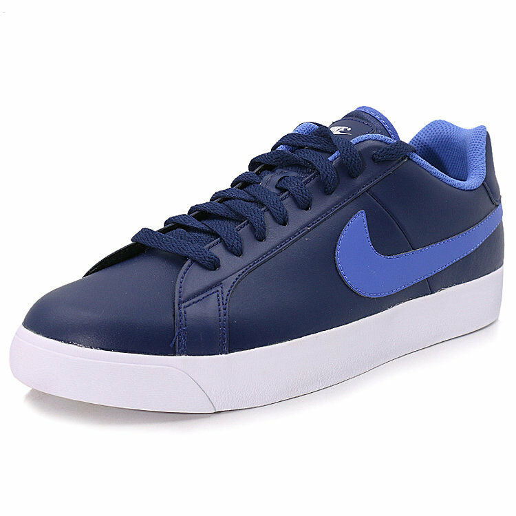 NIKE COURT ROYALE LOW CASUAL SNEAKER MEN SHOES blueE 844799-401 SIZE 7.5 NEW