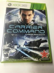 5 x Carrier Command - Gaea Mission XBOX360 NEW FACTORY SEALED 5 games