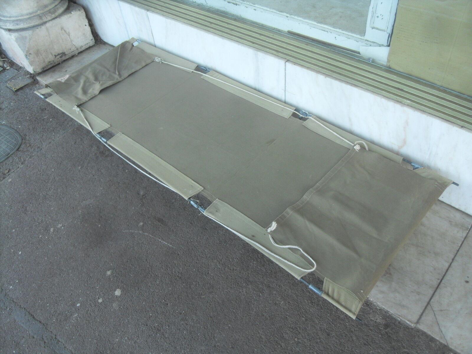 Vintage ' Safari ' Folding Portable Camp Bed
