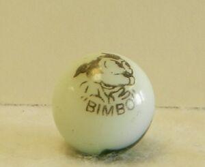 8292m Vintage Peltier Bimbo Comic Picture Marble .67 Inches *Mint*
