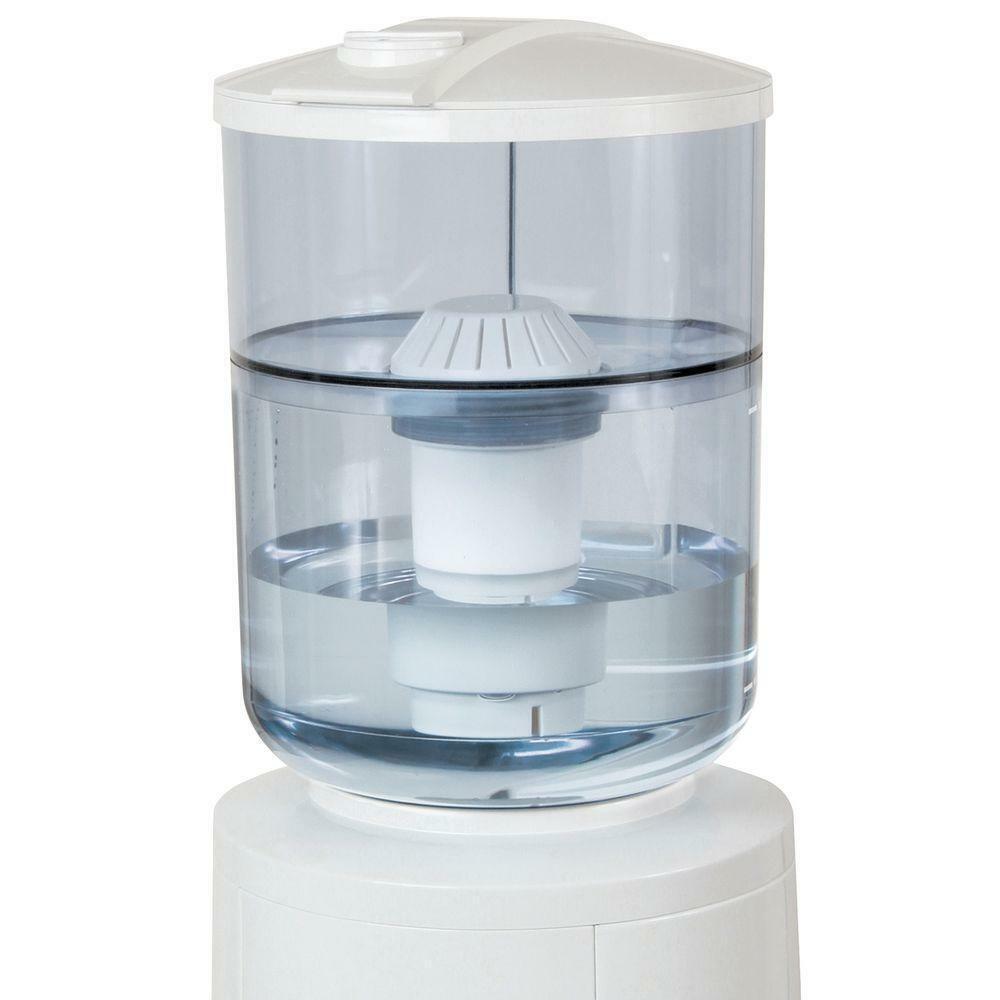 Distributeur d'eau Gallon filtration Conteneur Poids Léger Durable Refroidisseur Filtre