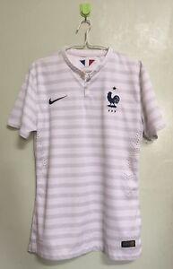more photos ba5d9 8bd0d Details about France 2014 Away Player Issue M Shirt Jersey
