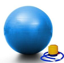 GRAND INNOVATIONS YOGA EXERCISE BALL 65 CM HGI-0035 W/FOOT PUMP NEW. #s1