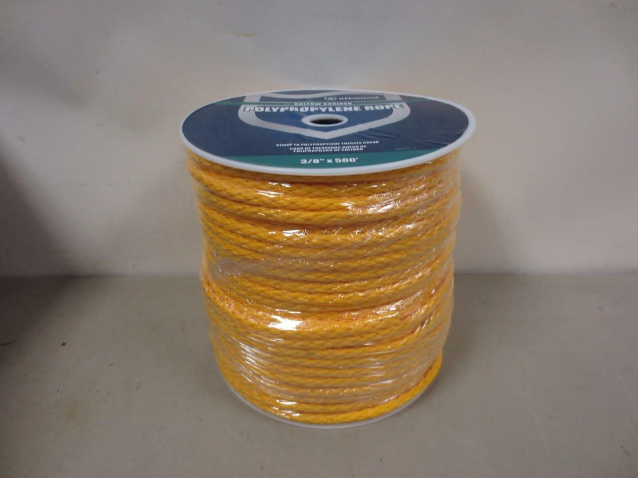 Attwood General Purpose Polypropylene Rope,  Yellow, 500-Feet  good price
