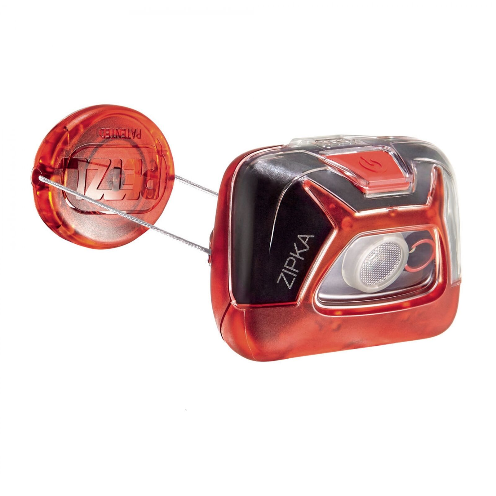 Petzl Zipka Stirnlampe red Ultrakompakt Taschenlampe
