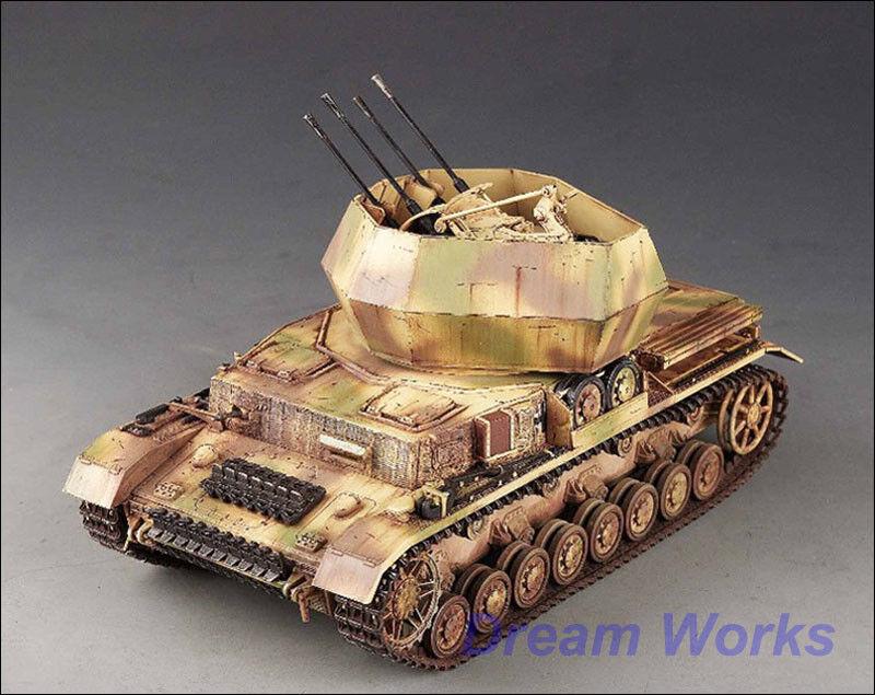 Premiados por la construcción de Tamiya 1   35 flakpanzer Wirbelwind Scratch build zimmerit