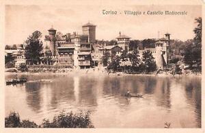 """Sammeln & Seltenes Alte Ansichtskarte Torino Villagio E Castello Medioevale """"2699"""" Kleinformat 1930 Gute Begleiter FüR Kinder Sowie Erwachsene Ansichtskarten"""