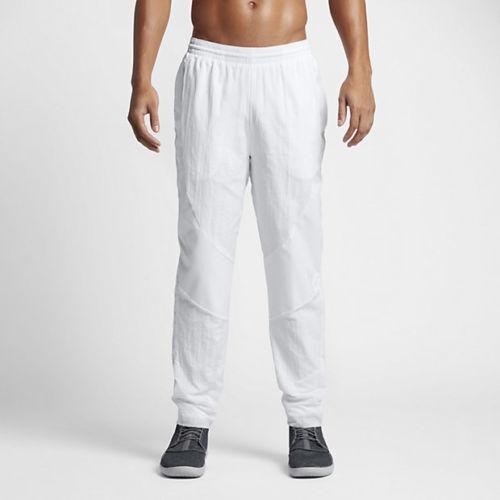 ddf5e8e5880c9e Air Jordan Men s Wings Muscle Athletic Basketball Pants White Size Large  for sale online
