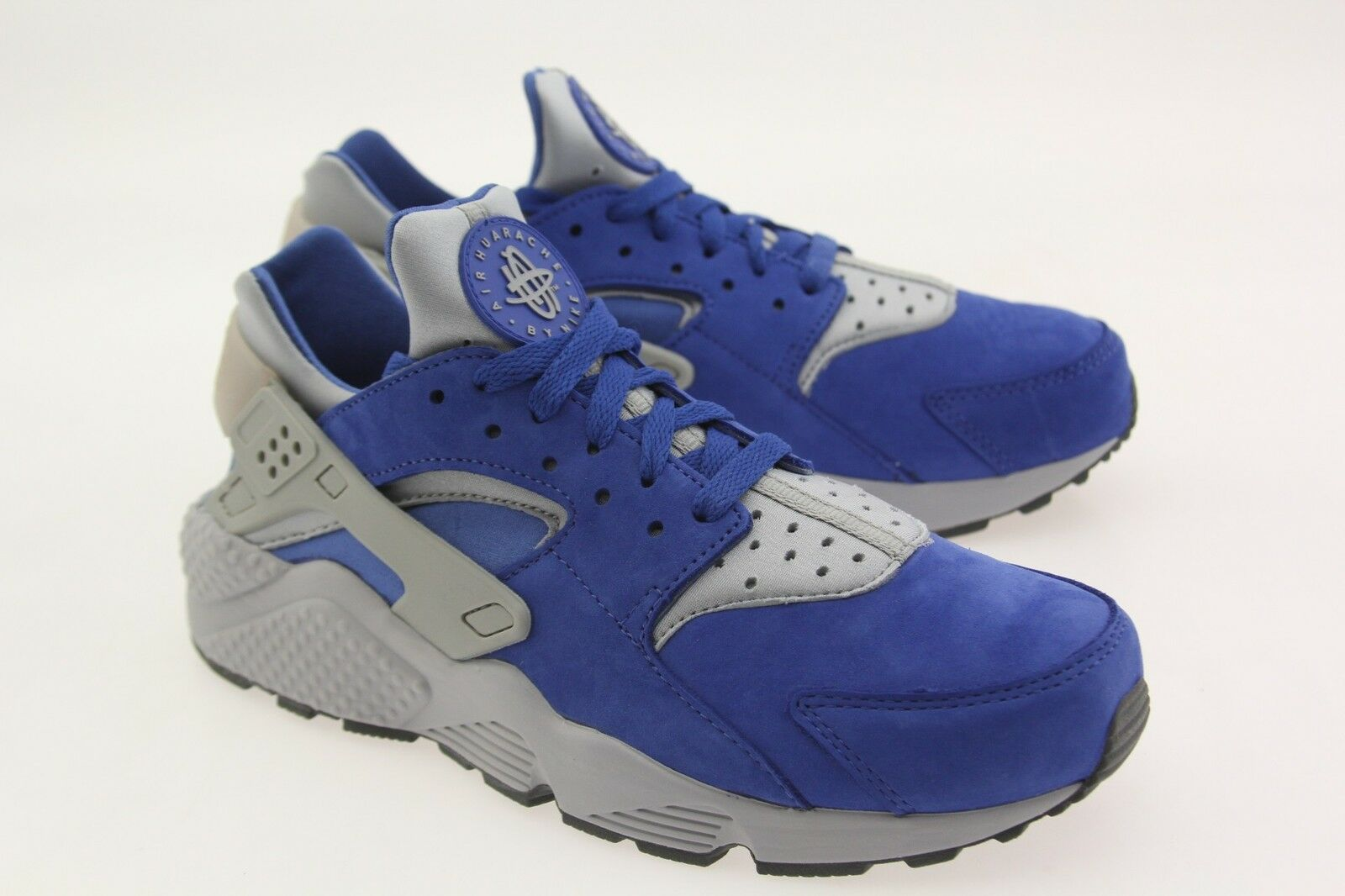 Nike Men Air Huarache Run PRM  varsity royal wolf grey
