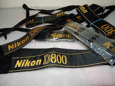 Genuino Nikon nueva correa de cuello Digital SLR D3X Fx Pro DSLR. vendedor del Reino Unido