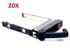 """20Pcs 500223-001 HP 2.5/"""" SATA SAS HD Tray Caddy DL380 DL360 DL580 DL385 G6 G7"""