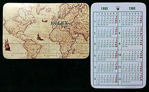 Rolex 1980 Calendar Daytona Cosmograph 6262 6263 6265 Submariner