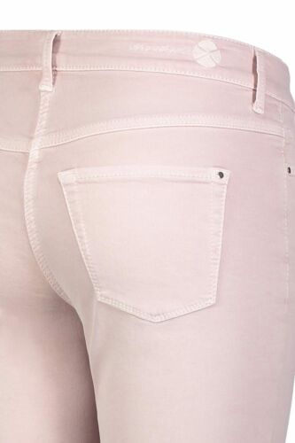 NUOVO Mac Donna 7//8 JEANS Dream Chic 5471 OLD-ROSE 715w
