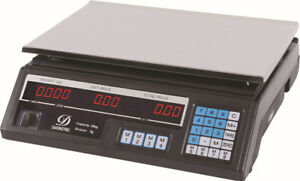 Cc Bilancia Digitale Elettronica Banco Professionale 40 Kg