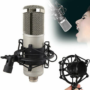 48mm-54mm-Microphone-Shock-Mount-w-Clip-For-Studio-Sound-Record-Condenser-Mic