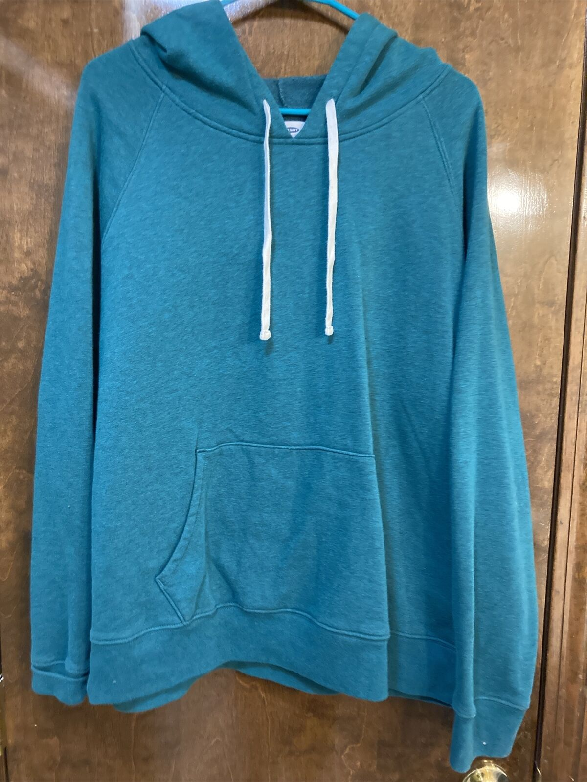Old Navy Womans XXL Green Pullover Hoodie NWOT