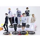 Fashion Kpop Star BTS Bangtan Boys Stand Figure Double Side Home Table Decor hs