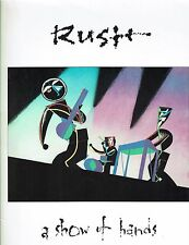 Rush A Show Of Hands Piano, Vocal, Guitar Song Book P/V/G