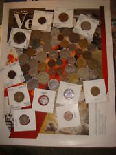 Lot of 51 World Foreign coins