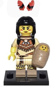 New Collectible LEGO Minifigure Series 15 ~ Tribal Woman - 71011