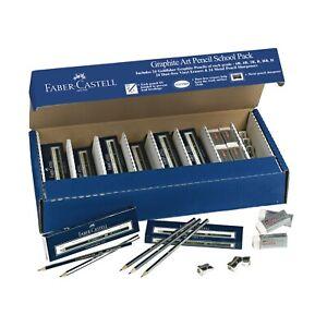 Faber-Castell Graphite Sketch Pencil School Pack | eBay